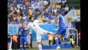 Uruguay vs Italia. Mundial Brasil 2014