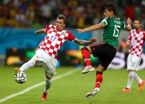 México vs Croacia. Mundial de Brasil 2014