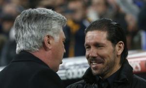 Diego Simeone y Carlo Ancelotti